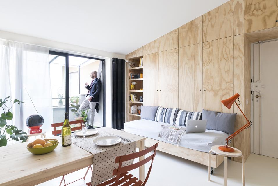 Arredare 30 mq living corriere for Arredamenti per ingresso appartamento