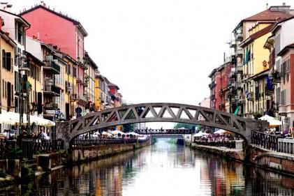 Workshop, installazioni e chiatte galleggianti. I canali di Milano protagonisti della design week