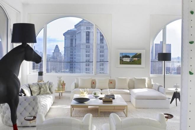 Un labirinto di ambienti che nasconde sorprese continue. È la Sky House progettata da David Hotson a New York