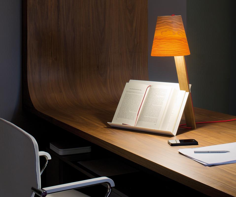 Lampada leggio per chi ama i libri - Leggio per libri da tavolo ...