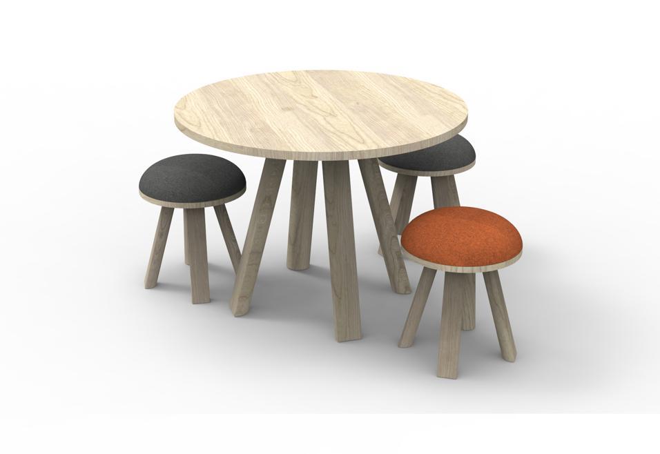 BuzziMilk Table di BuzziSpace