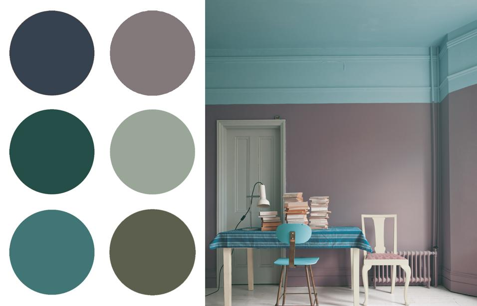20 idee per dipingere le pareti di casa for Pareti colorate moderne