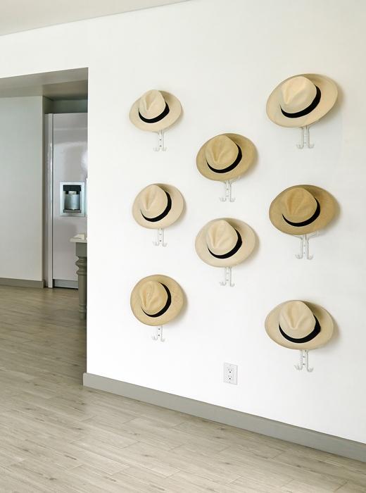 Gli appendini-cappello