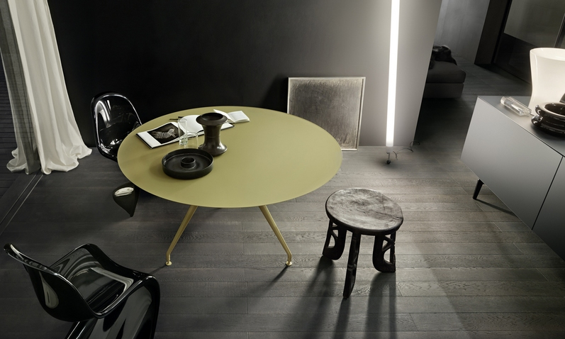 Tavoli tondi di design