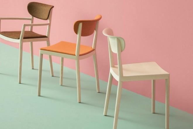 Artigianalità e innovazione, stile vintage e contemporaneo. Una selezione di 20 sedute per arredare la zona livingPedrali - sedia Tivoli
