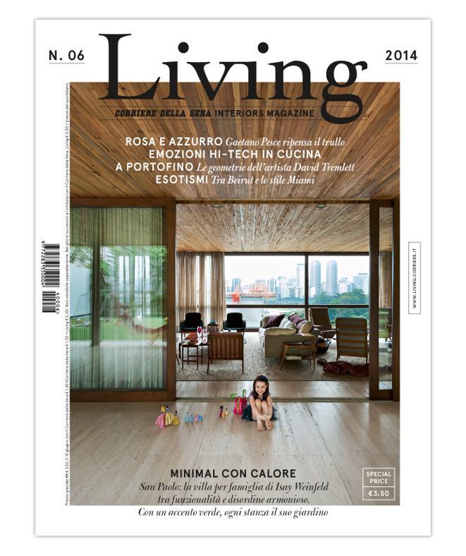 La cover del nuovo Living 06 - 2014