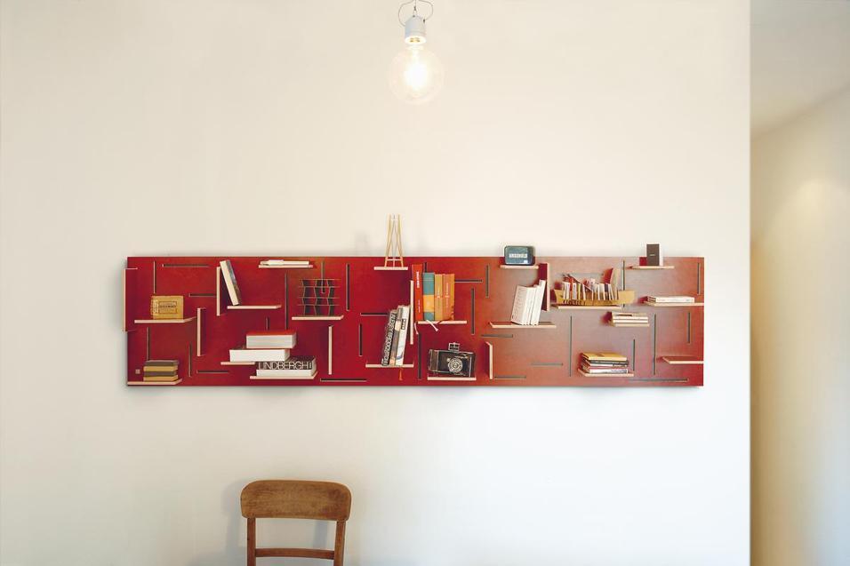 Trenta mini librerie salvaspazio foto living corriere for Coin arredamento