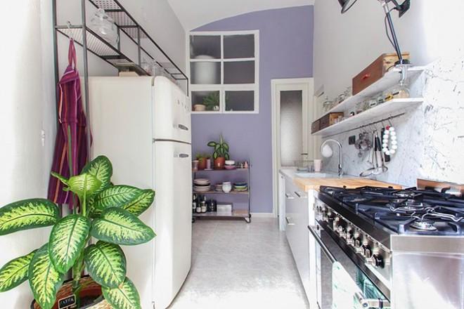 La cucina di Serena Pastorino (realizzata dallo Studio Unduo)