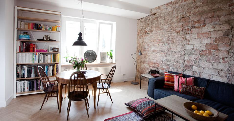 Vivere a Varsavia in un mix di stili
