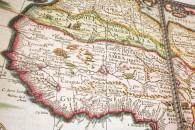 Delle antiche carte del XVIII secolo