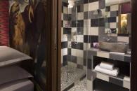 Una sala da bagno a tema