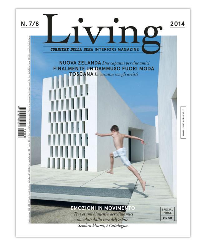 La cover del nuovo Living 7/8 - 2014