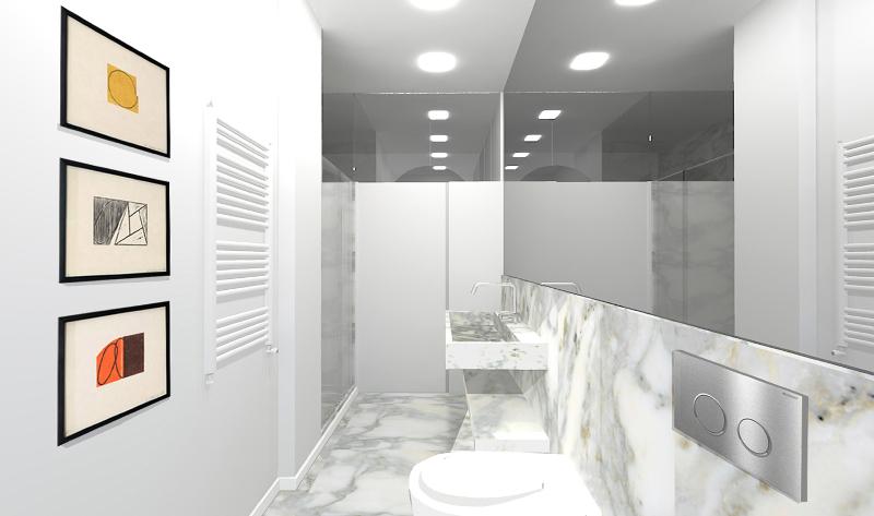 Progettare un doppio bagno foto 1 livingcorriere for Progettare un salone