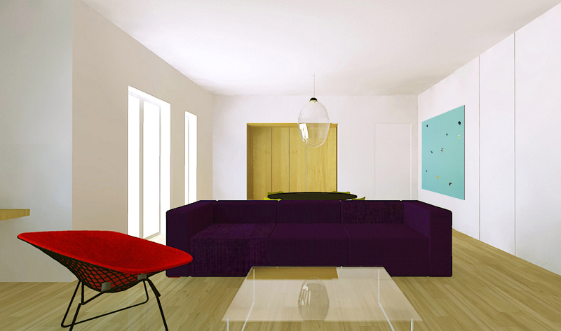 Un appartamento open space foto 1 livingcorriere - Arredare casa economicamente ...