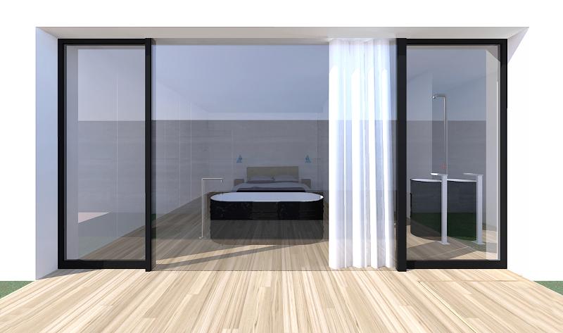 Bagno Aperto In Camera : Il bagno in camera da letto foto livingcorriere