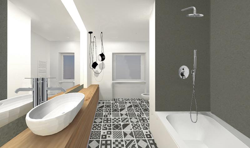 Come realizzare un bagno funzionale foto 1 livingcorriere for Servizi da bagno moderni