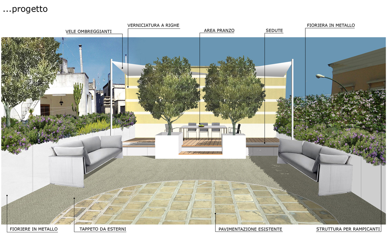 Come arredare un terrazzo nel centro storico di Lecce - Foto 1 ...