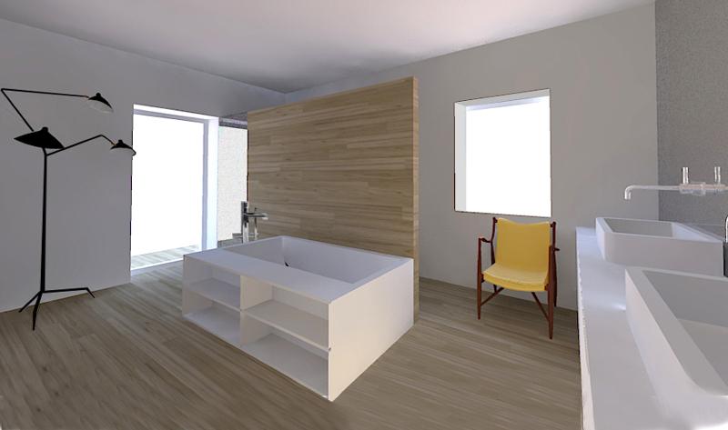 Progettare un bagno soggiorno - Foto 1 LivingCorriere