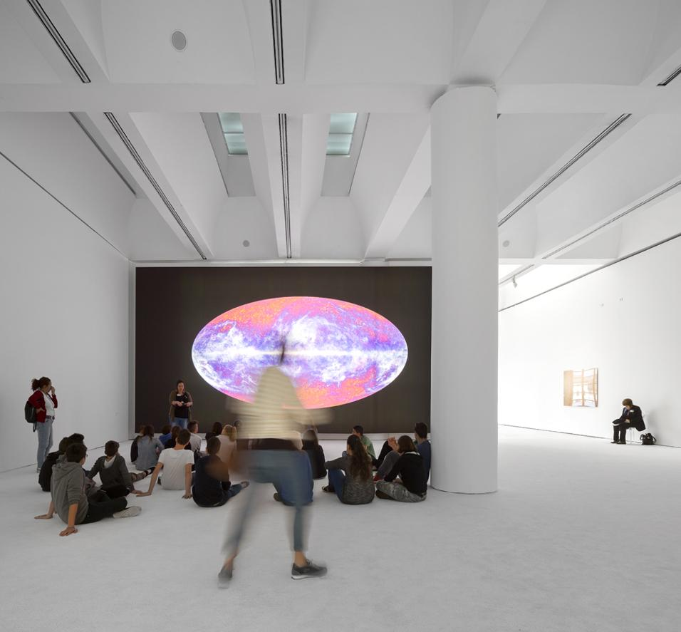 The microwave sky as seen by Plank, 2010