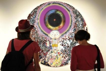 Si chiama 'Il ciclo di Arhat' la personale dell'eclettico artista giapponese. In mostra a Palazzo Reale, fino al 7 Settembre