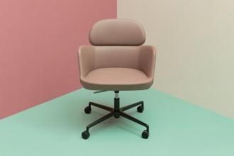 Con o senza braccioli, regolabili in altezza e inclinabili. Una serie di sedute girevoli per lo spazio di lavoroPedrali