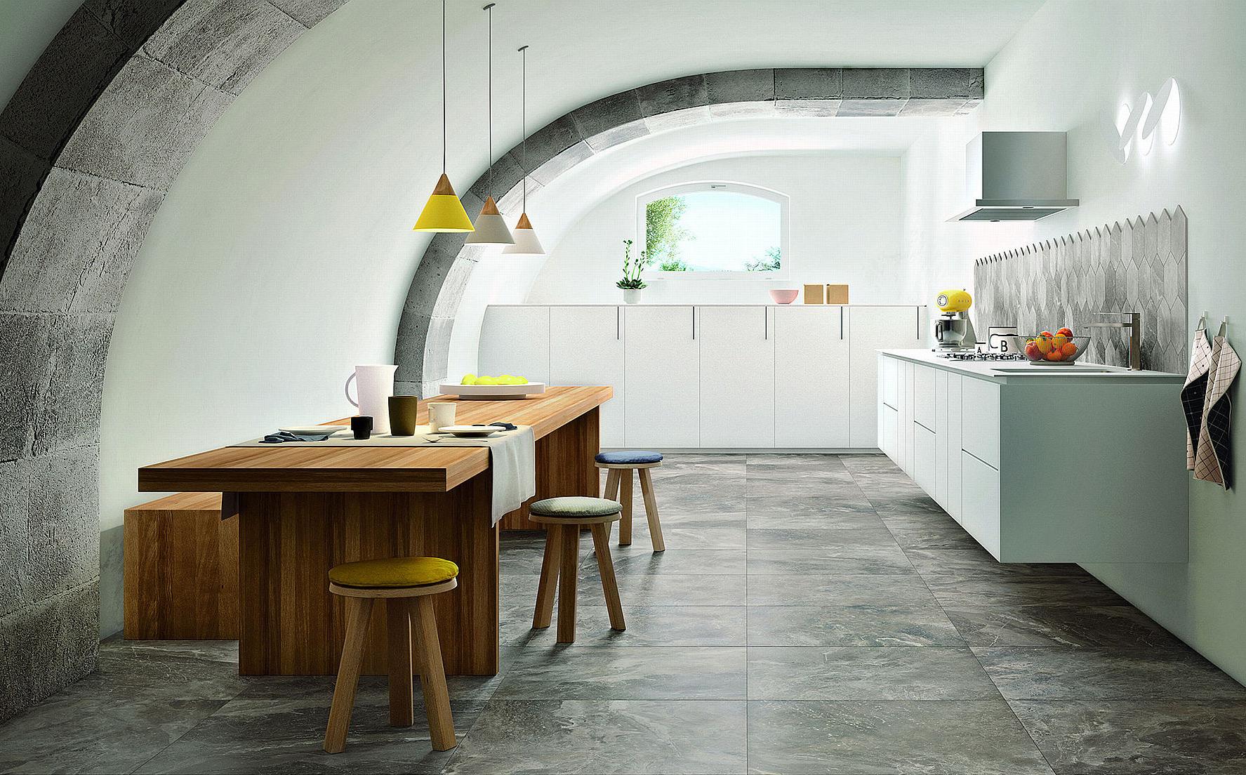 Piastrelle per decorare la cucina - Decorare le piastrelle ...