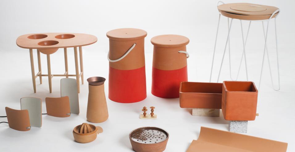 Dieci progetti esplorano il potenziale della ceramica rossa. In attesa di una sfida creativa con la porcellana francese che si giocherà in autunno a Parigi