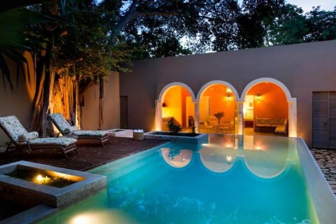Arredare in stile coloniale una villa storica in messico for Arredamento messicano