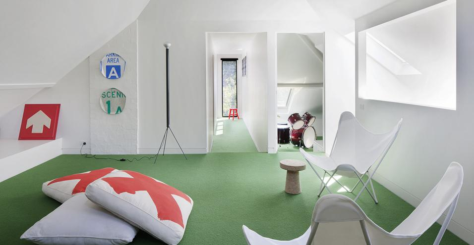 Da soffitta a spazio ricreativo