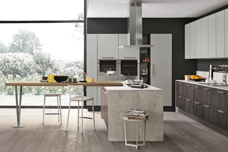 Stunning cucine open space con isola pictures ideas for Cucine modernissime con isola