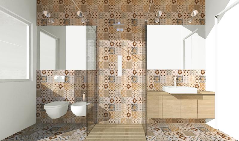 Una doccia passante per un bagno stretto e lungo foto 1 livingcorriere