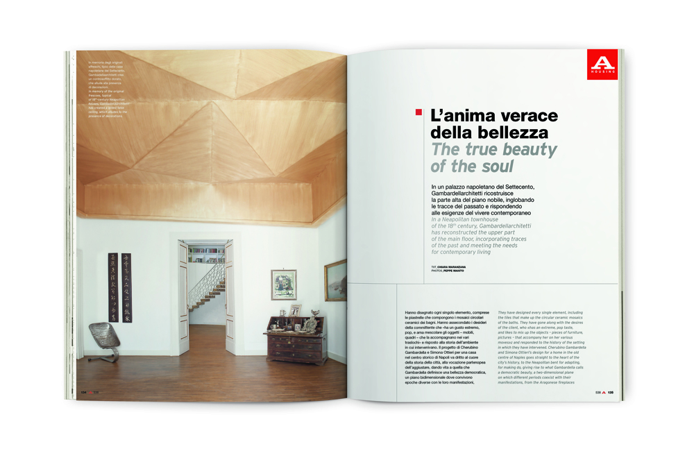 Il ritorno in edicola di abitare storica rivista di for Riviste di architettura italiane