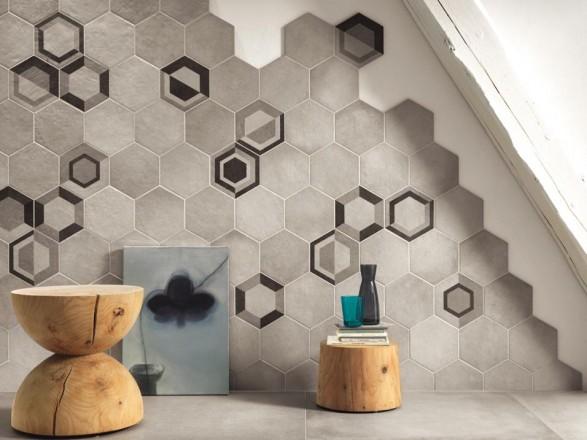 Mattonelle bagno geometrie di tendenza consigli rivestimenti