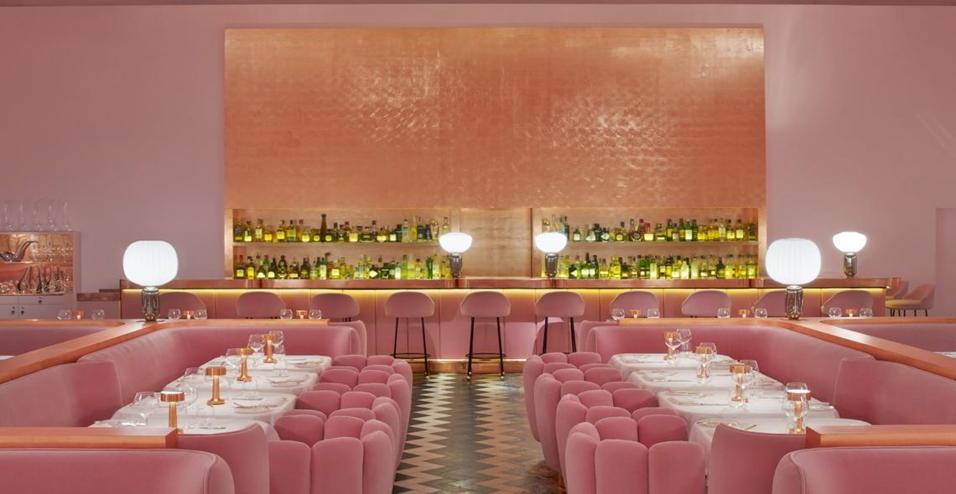A londra il ristorante sketch si tinge di rosa living for Hotel manin milano