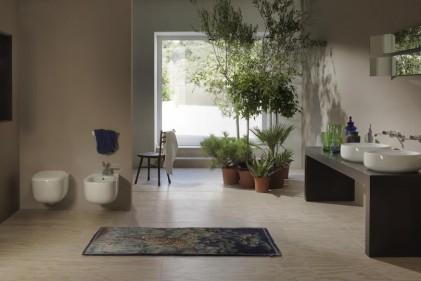 In occasione di Cersaie, la ceramica sanitaria presenta le sue novità. Non solo in Fiera. Finiture, colori, misure, customizzazione ma soprattutto un'attenzione particolare all'ambienteCeramica Flaminia, Bonola