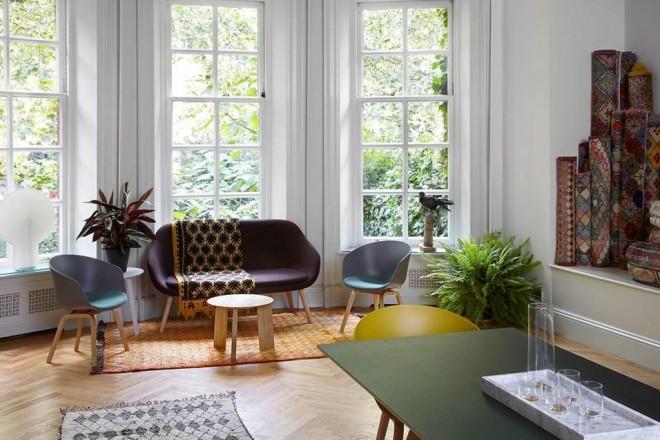 A Londra per la design week Hay trasforma la sua sede londinese in un pop up restaurant