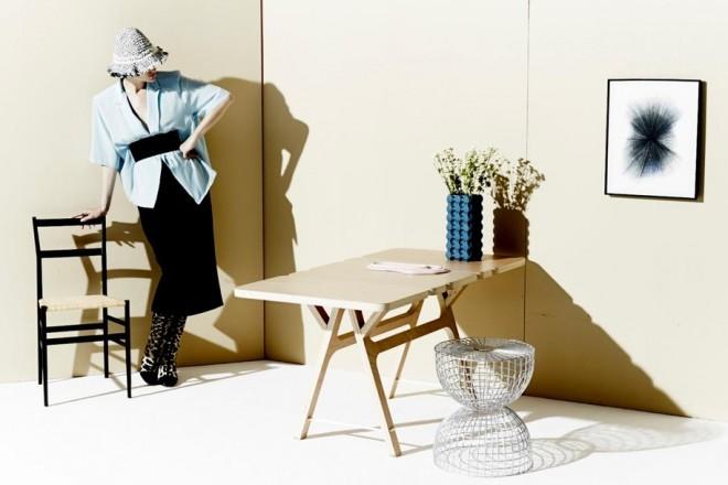 Foto e concept Grégoire Alexandre - Set designer Jean-Philippe Lhonneur - Fashion stylist Marion Jolivet