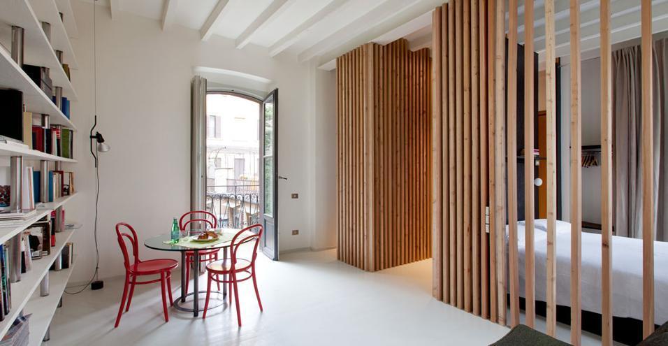 Idee per arredare mini appartamenti di 40mq for Idee originali per arredare appartamenti