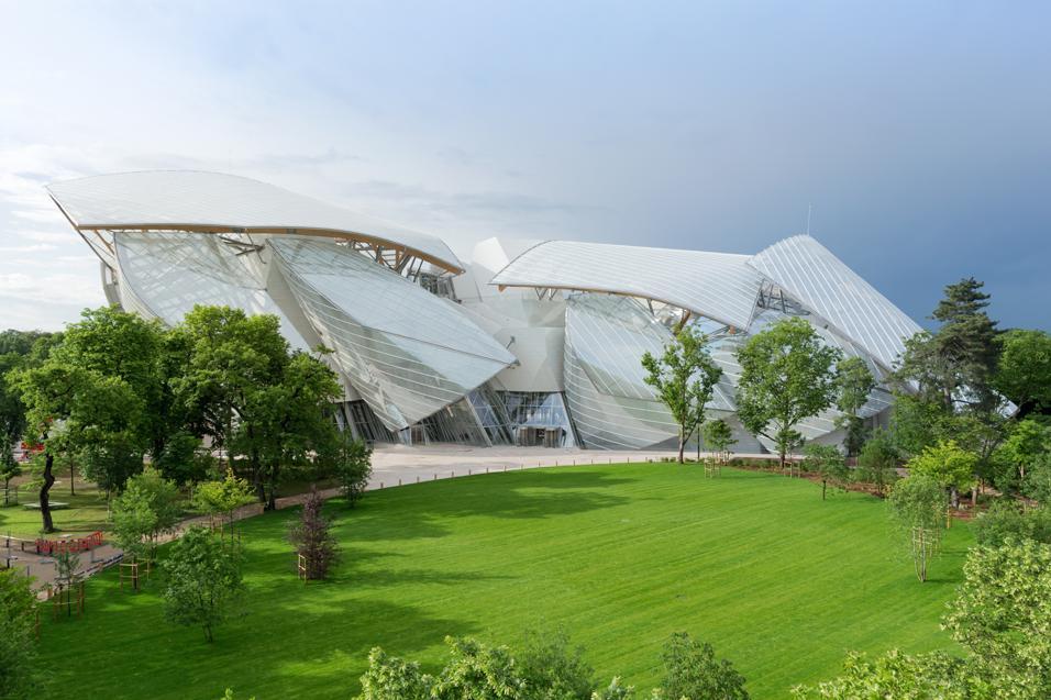 La Fondazione Louis Vuitton per l'arte contemporanea