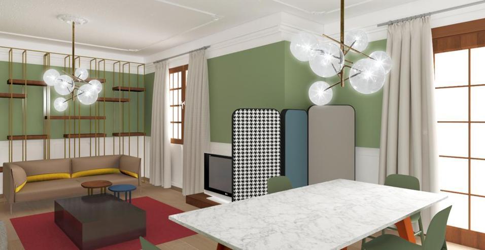 Come arredare un salotto sovrastato da un soffitto a stucchi. Ecco alcuni consigli per decorare la casa con il colore e rendere più attuali i dettagli d'epoca LA DOMANDA