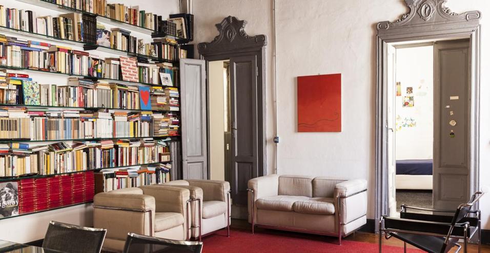 A casa di Luciano Galimberti.