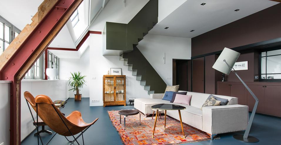 Un appartamento moderno in una scuola Anni 30