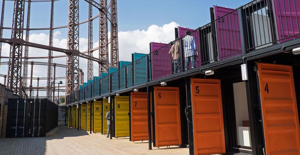 Un nuovo spazio di coworking, eco e a basso costo. Per sviluppare start up a due passi da Camden Town, nel cuore di Londra