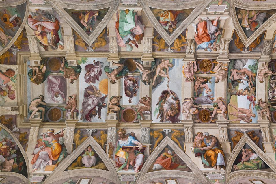 A 20 anni dal celebre restauro dei dipinti Rinascimentali, i Musei Vaticani presentano il nuovo sistema di illuminazione - a cura di Osram - e di condizionamento, che rendono ancor più spettacolare la visita ai capolavori.Nella nuova luce