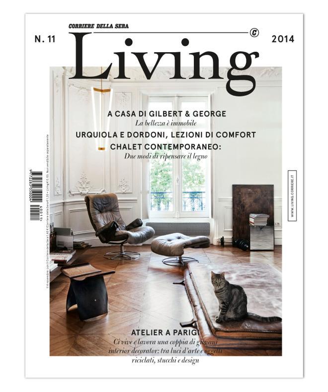 LA COVER DEL NUOVO LIVING 11 - 2014