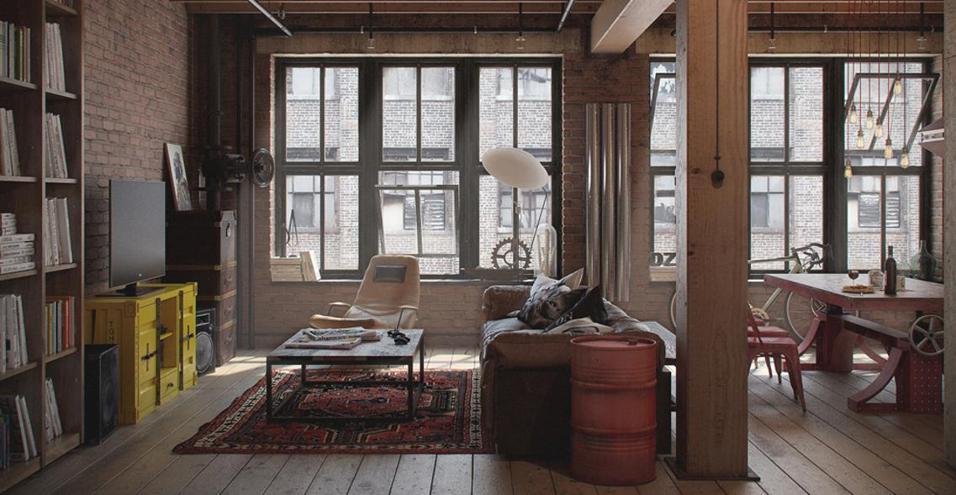 Il loft senza letto