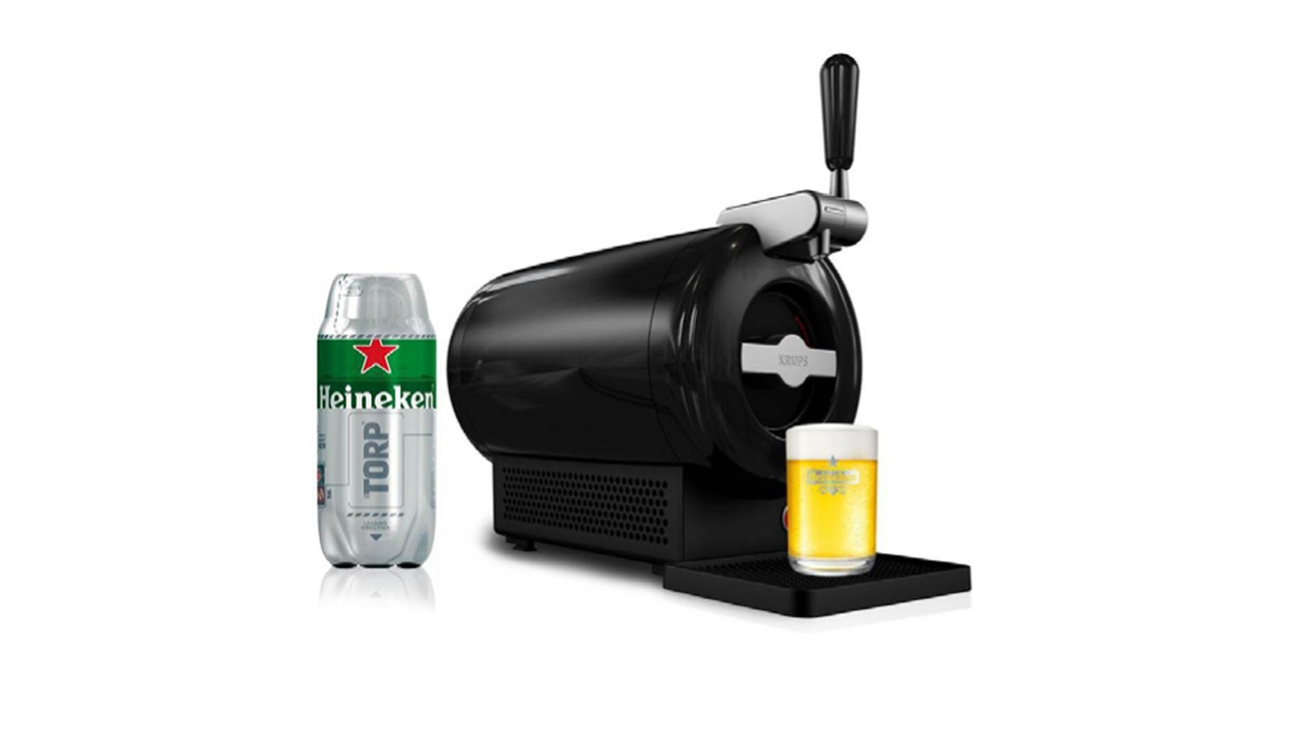 The sub lo spillatore disegnato da marc newson per heineken ora nella versione total black - Spillatore birra da casa ...