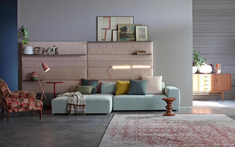 I nuovi divani for Letto appeso al muro