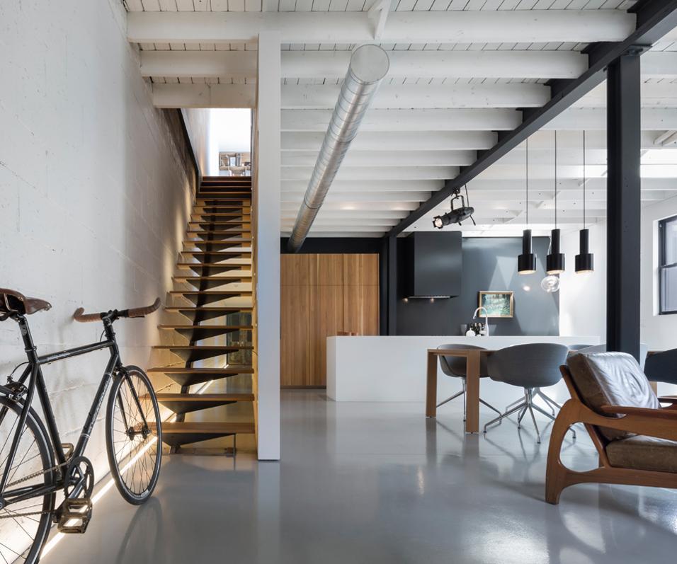 LE 205 HOUSE DI ATELIER MODERNO: LA ZONA GIORNO