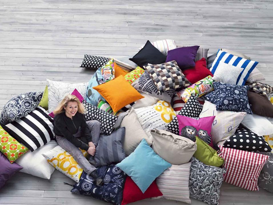 Cuscini di design foto e ispirazioni living corriere for Ikea ispirazioni